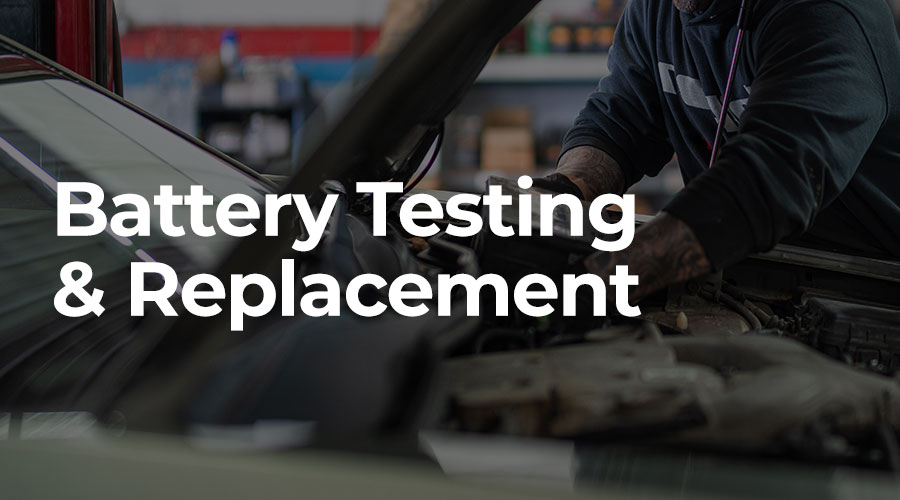 Book a car service today with our trusted Midland mechanics. Our qualified mechanics can perform battery testing and replacements if required!